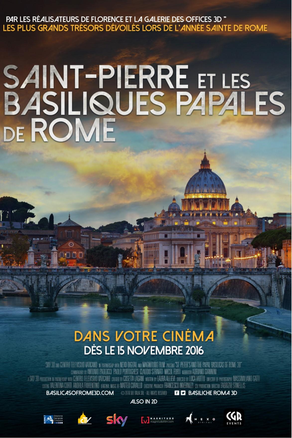 Saint Pierre et les Basiliques Papales de Rome (CGR Events)