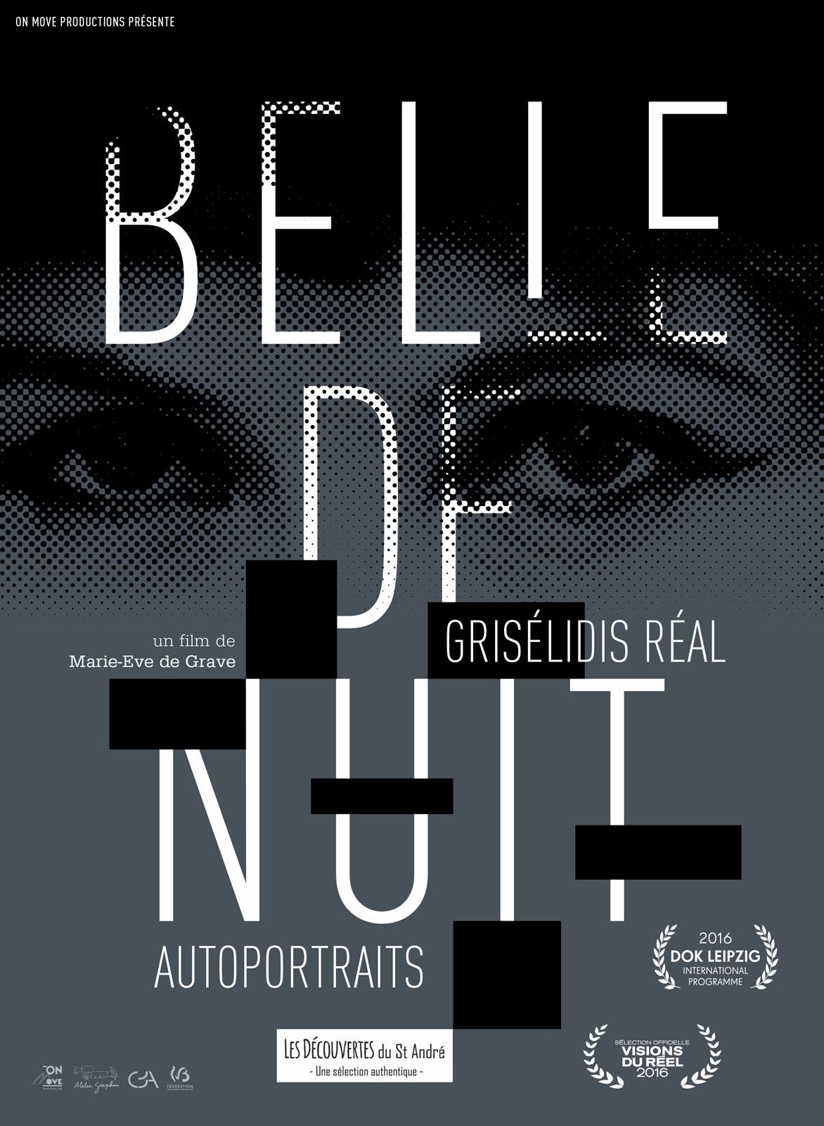 Belle de nuit - Grisélidis Réal, autoportraits