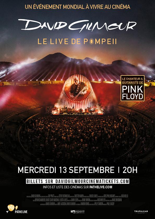 Pink Floyd's David Gilmour - Live à Pompéï (Pathé Live)