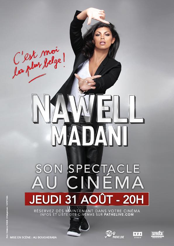 Nawell Madani - «C'est moi la plus belge!»  au cinéma