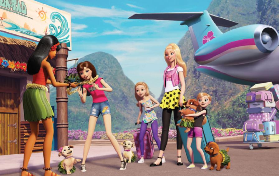 Barbie et les dauphins magiques (CGR Events)