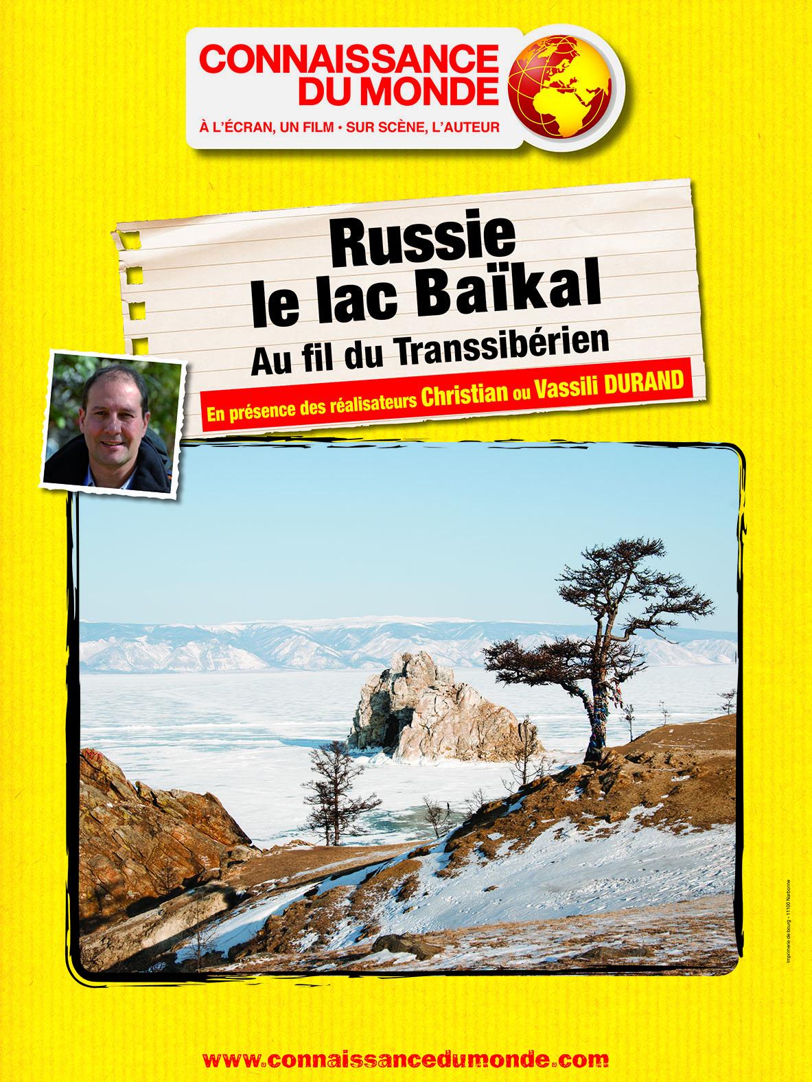Russie, le lac Baïkal, Au fil du Transsibérien