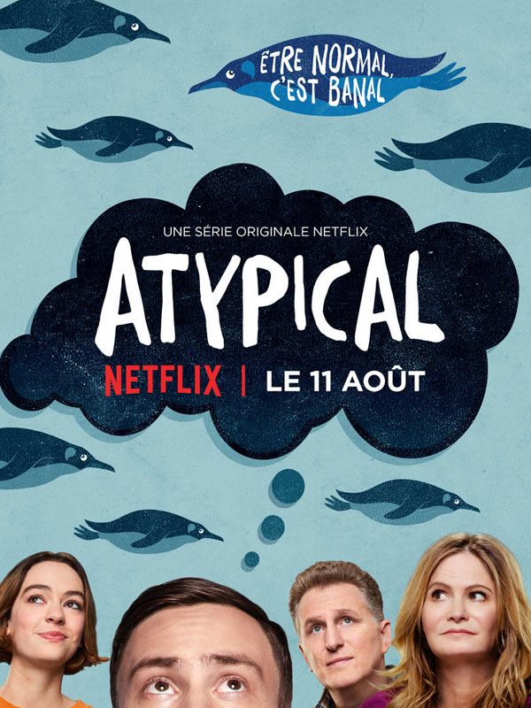 Book Cover Series Netflix ~ Atypical série tv allociné