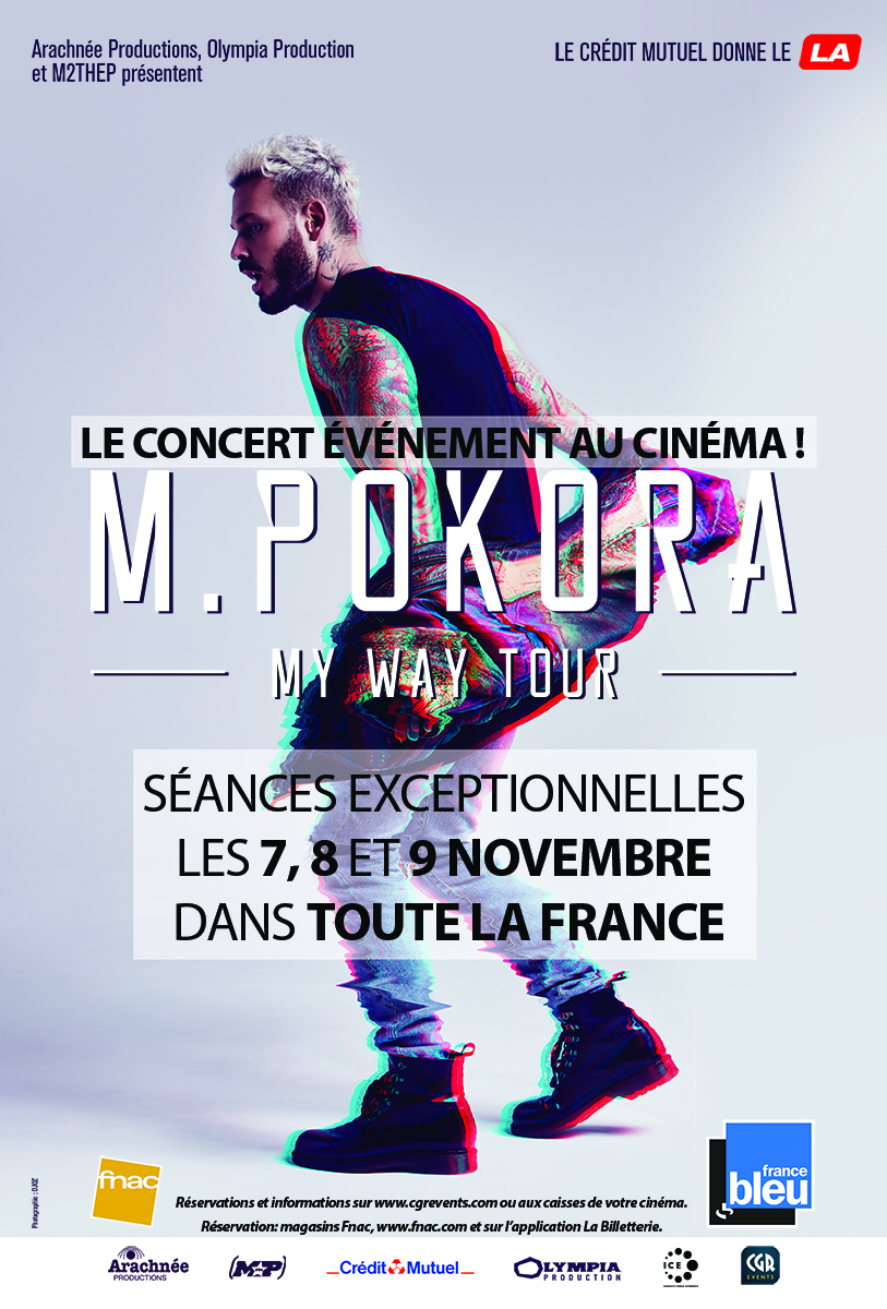 M. Pokora - My way tour (CGR Events)