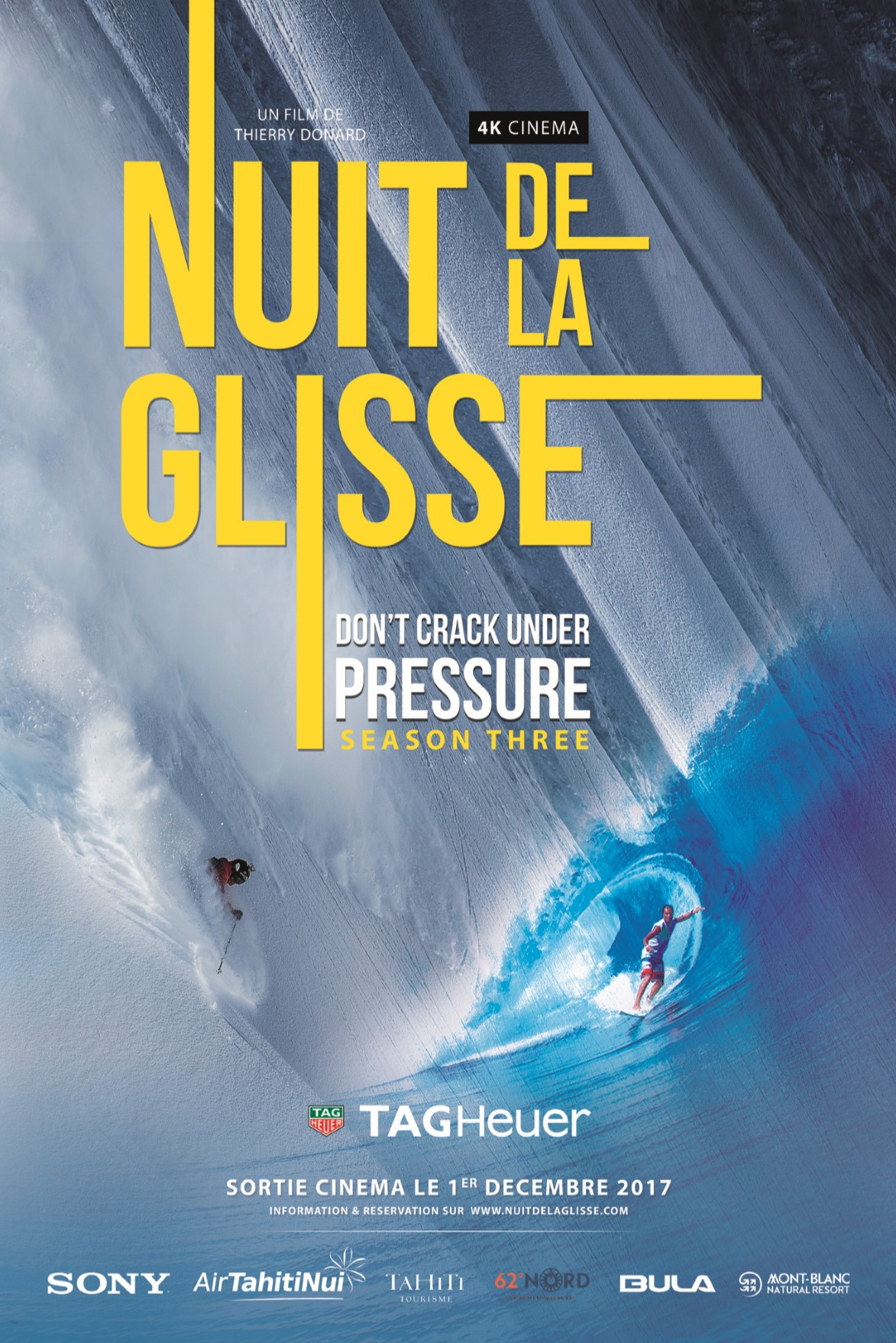 LA NUIT DE LA GLISSE Don't Crack Under Pressure season three