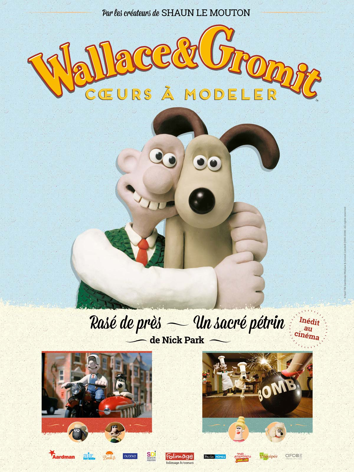 Wallace & Gromit : Cours à modeler