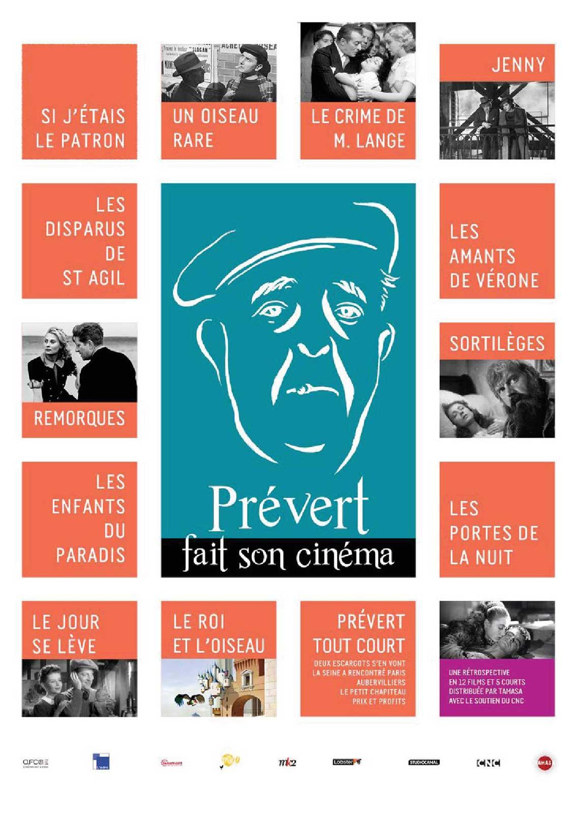 Jacques Prévert - La rétrospective