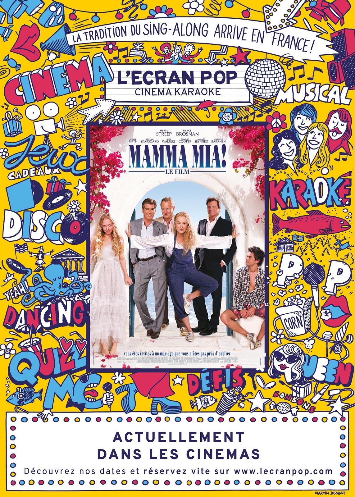 L'ÉCRAN POP MAMMA MIA (Cinéma Karaoké)