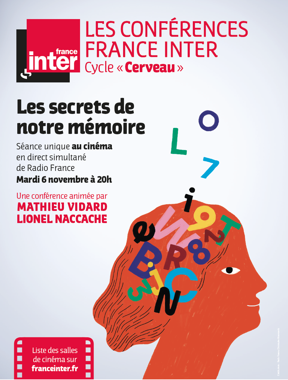 Les secrets de notre mémoire - Conférence France Inter (CGR Events)
