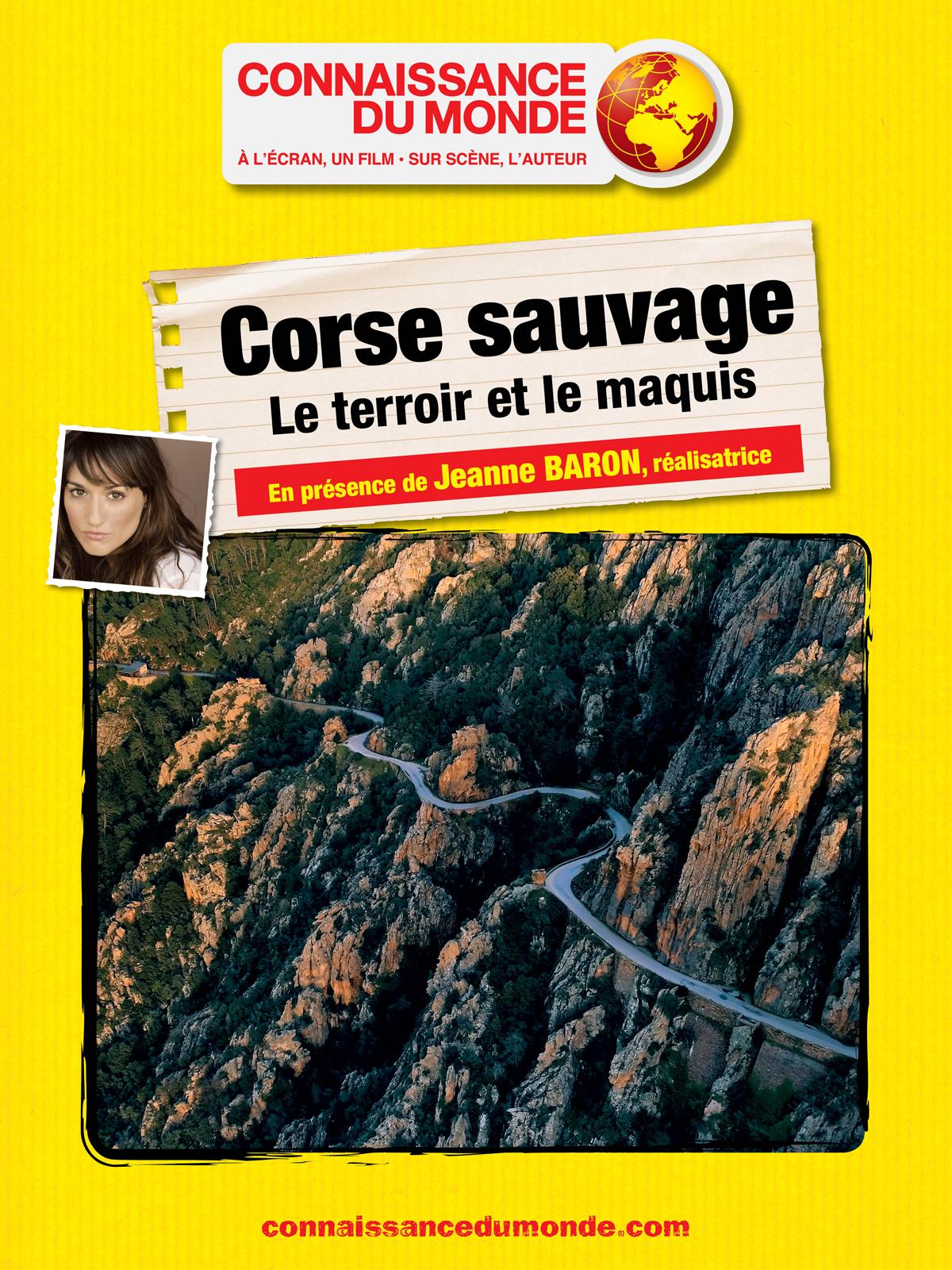CORSE SAUVAGE, Les falaises et le maquis