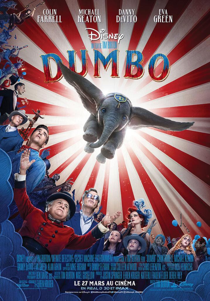 affiche du film : Dumbo