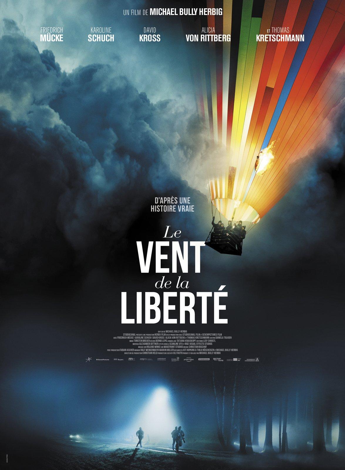 Affiche du film Le Vent de la liberté