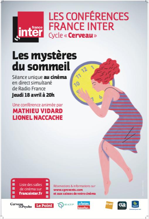 Les mystères du sommeil - Conférence France Inter (CGR Events)