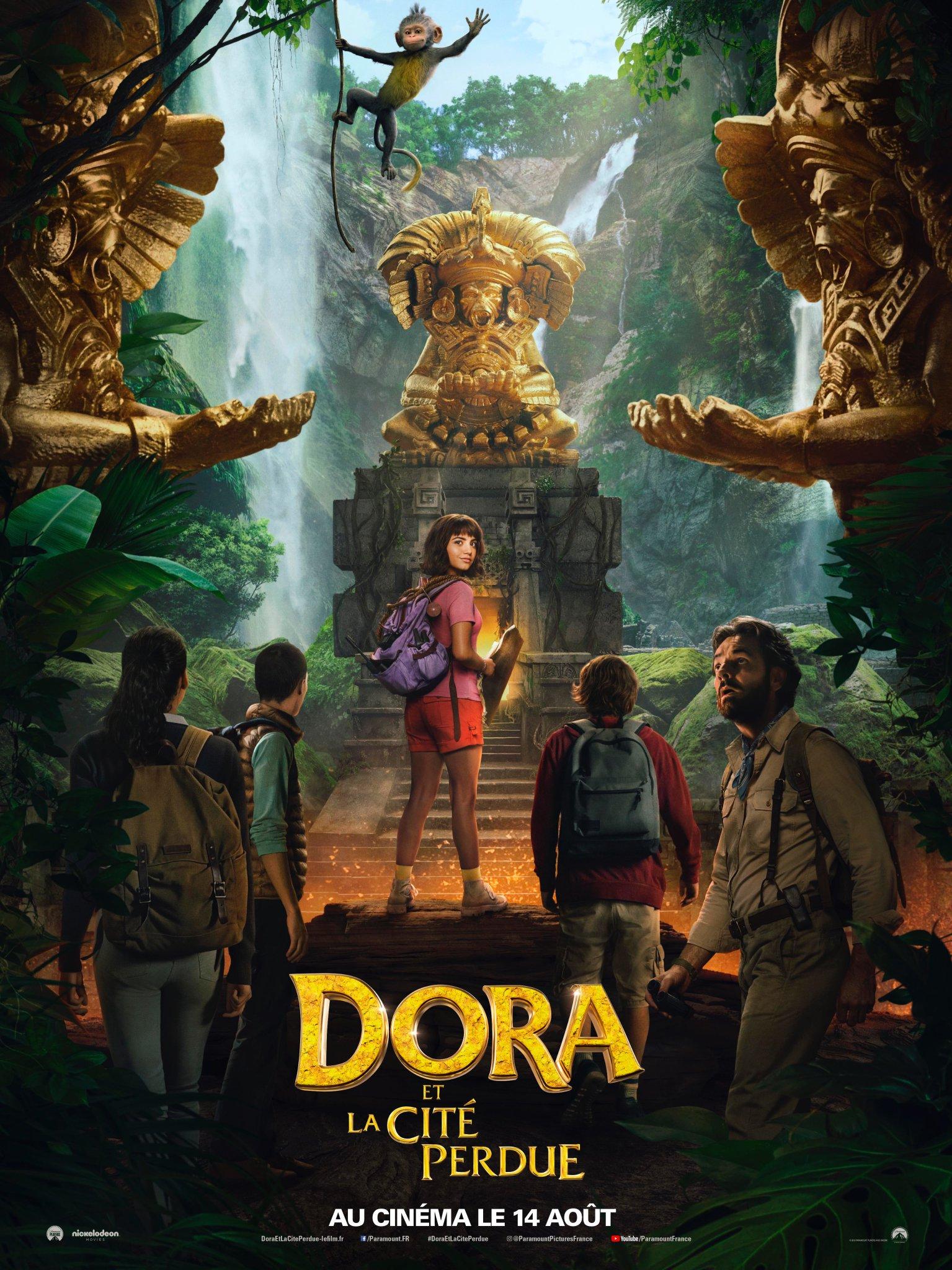 Affiche du film Dora et la Cité perdue