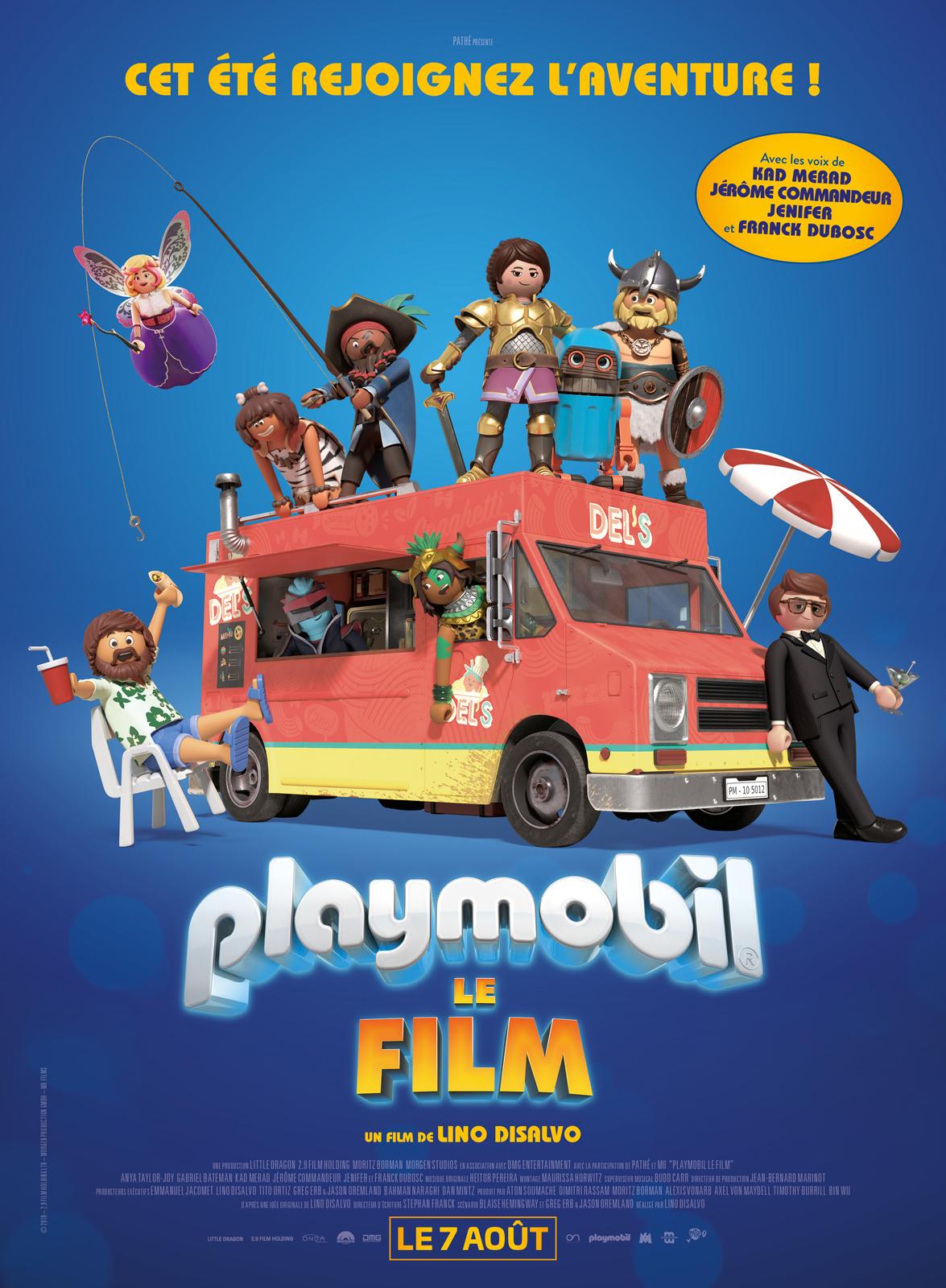Affiche du film Playmobil, le Film