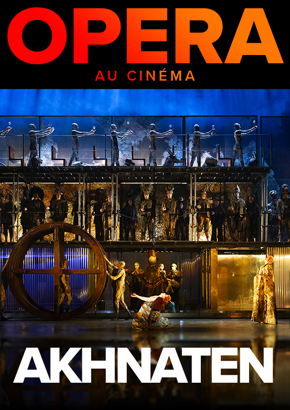 Image du film Akhnaten (Metropolitan Opera)
