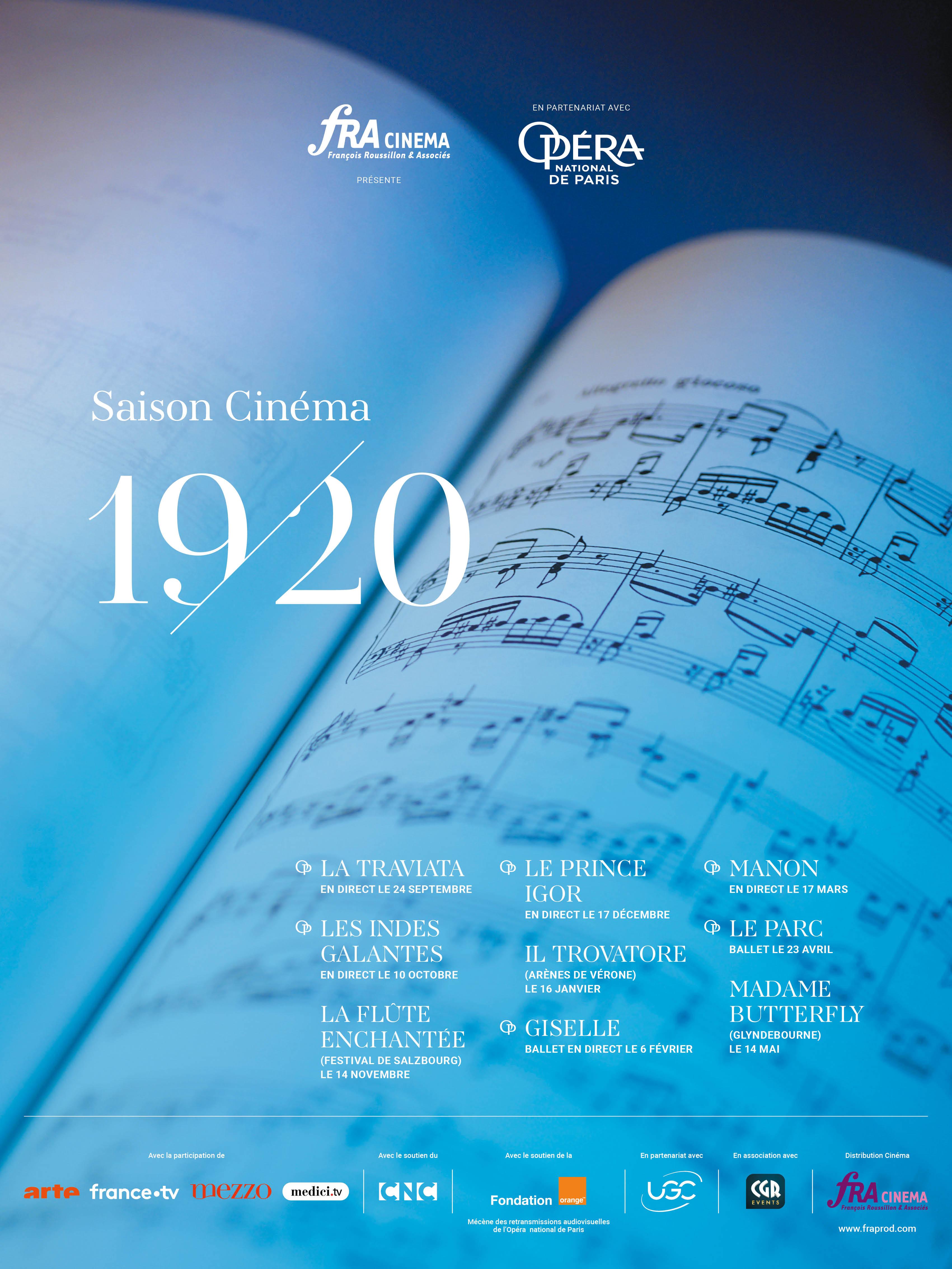 Image du film Manon (Opéra de Paris-FRA Cinéma)