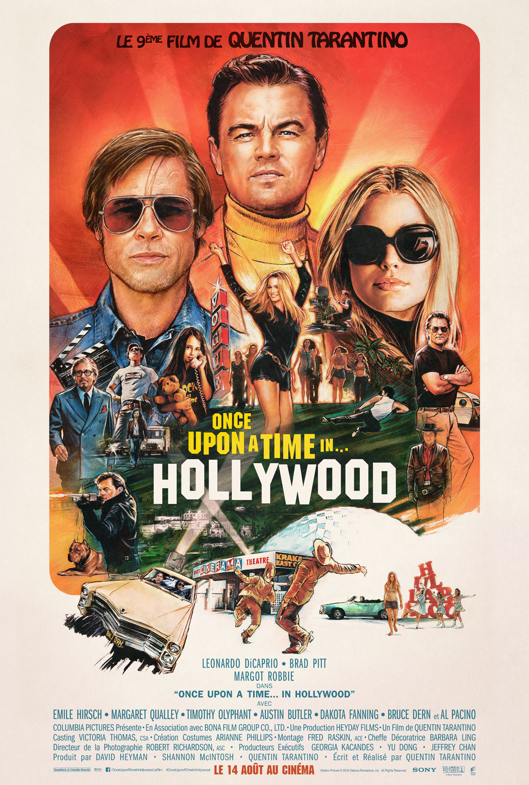 affiche du film : Once Upon a Time? in Hollywood