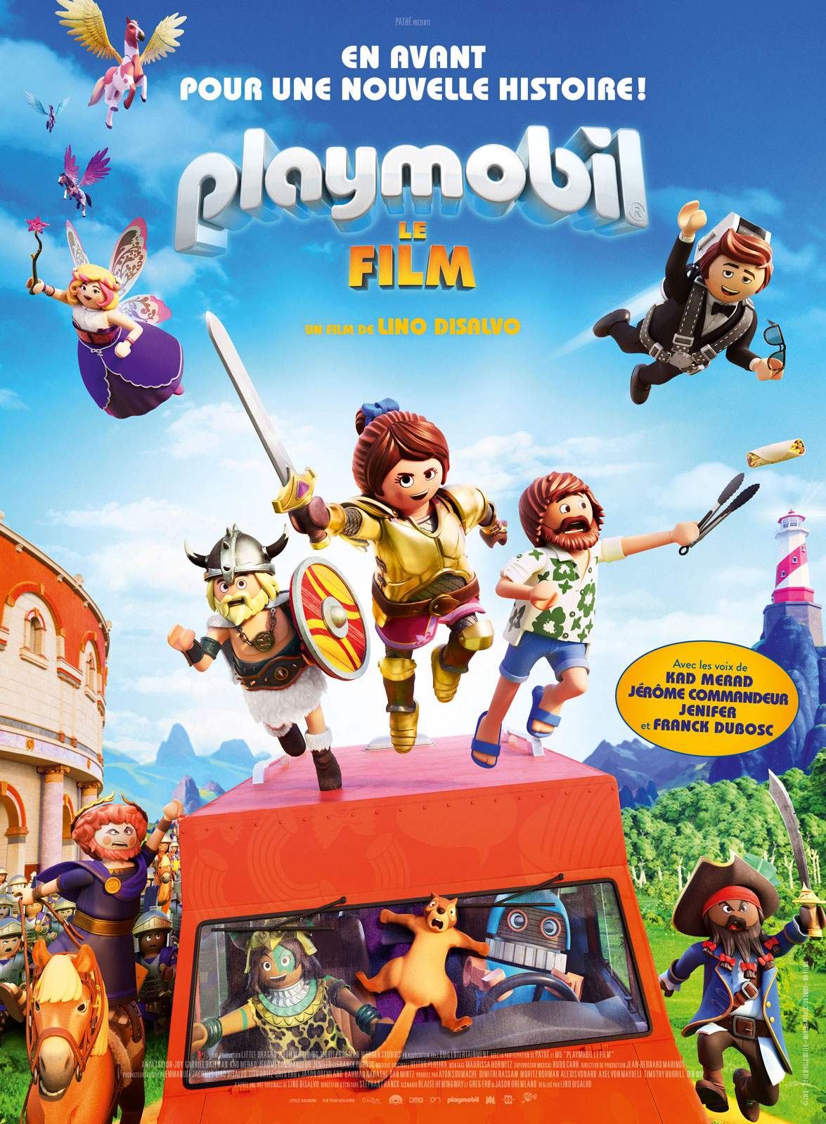 affiche du film : Playmobil, le Film