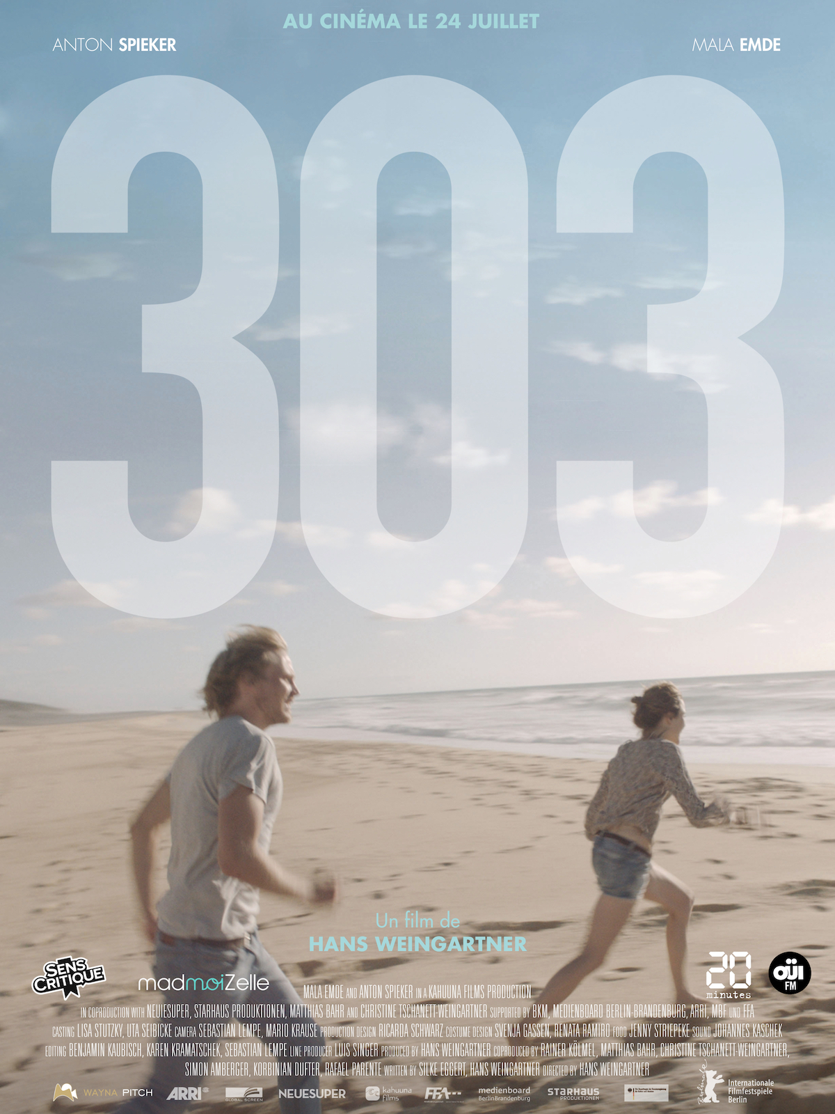 Affiche du film 303