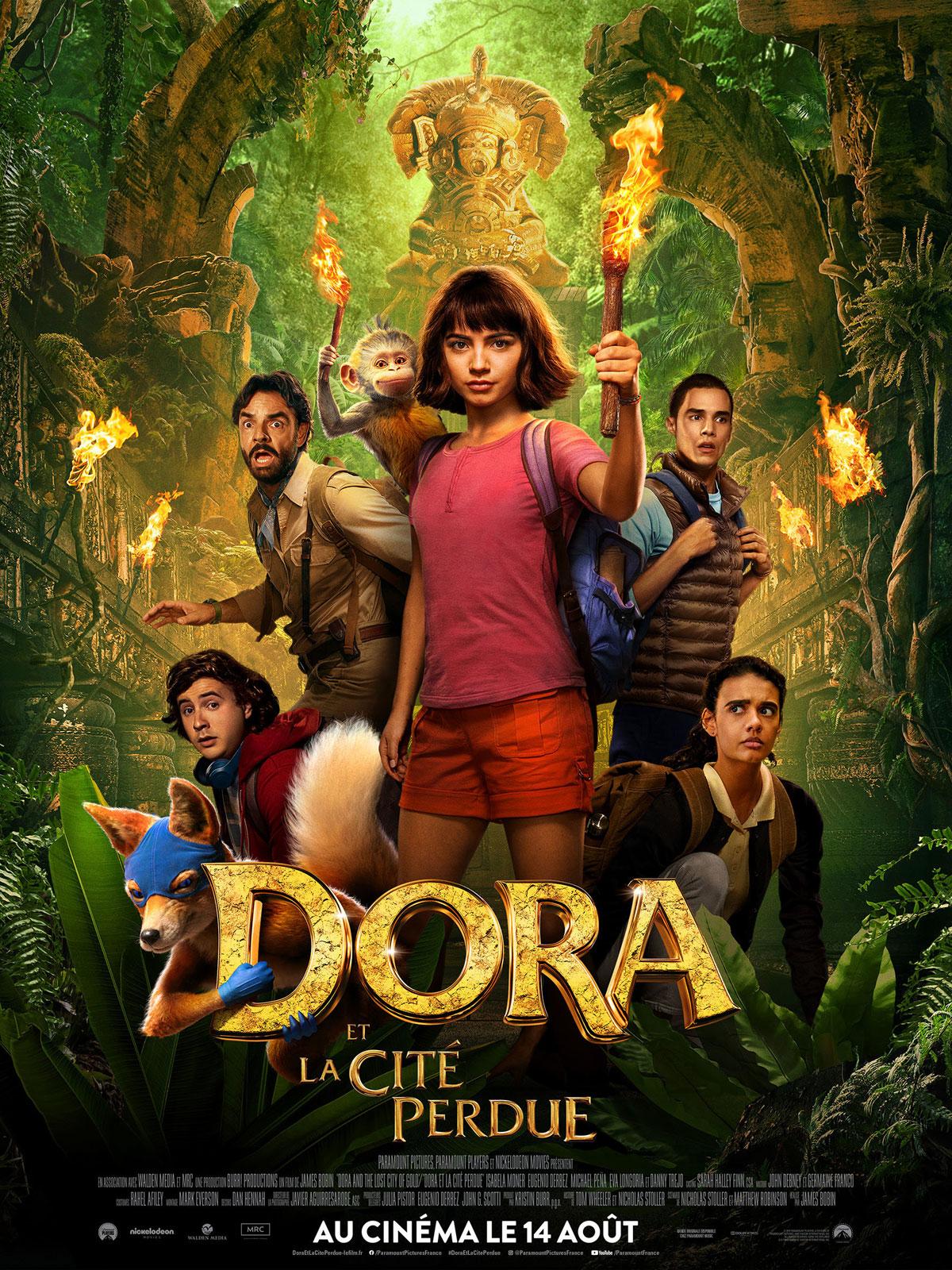 Image du film Dora et la Cité perdue