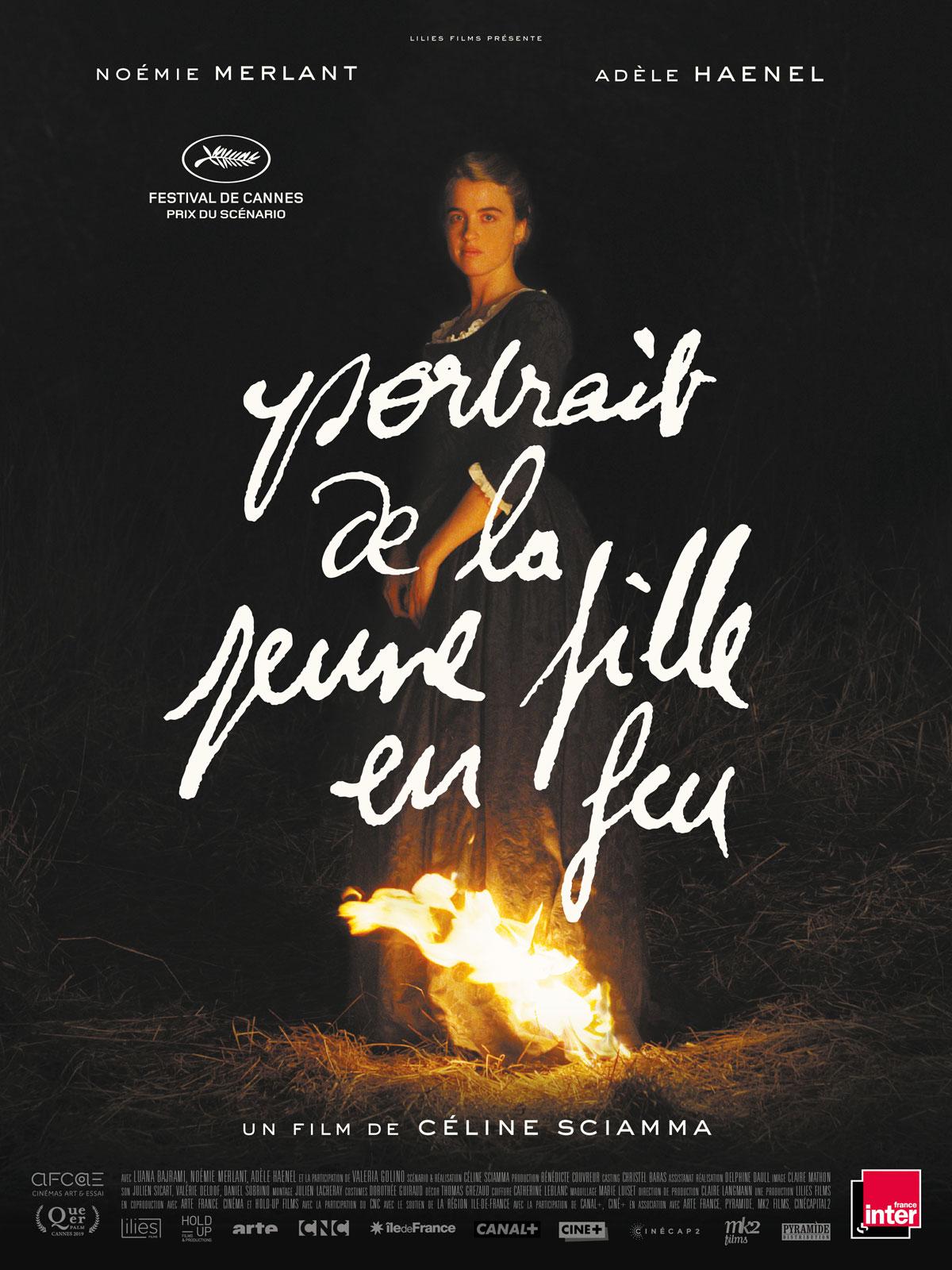 Image du film Portrait de la jeune fille en feu