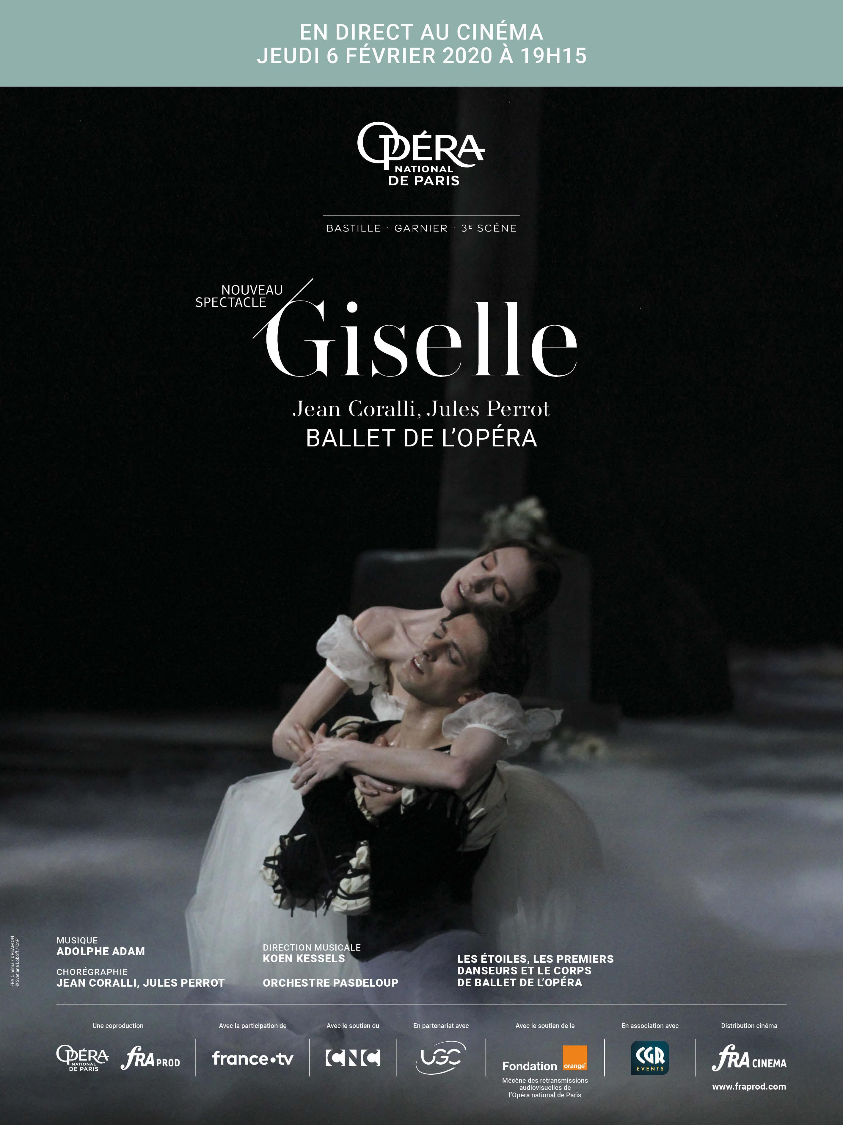 Image du film Giselle (Opéra de Paris-FRA Cinéma)