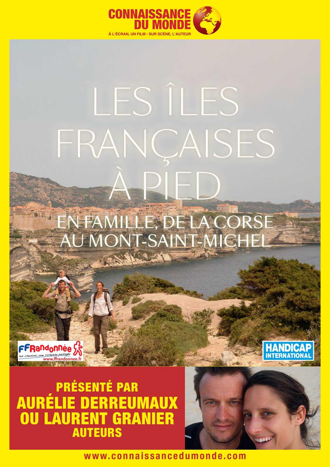 Image du film Les îles françaises à pied, En famille, de la Corse au Mont Saint Michel