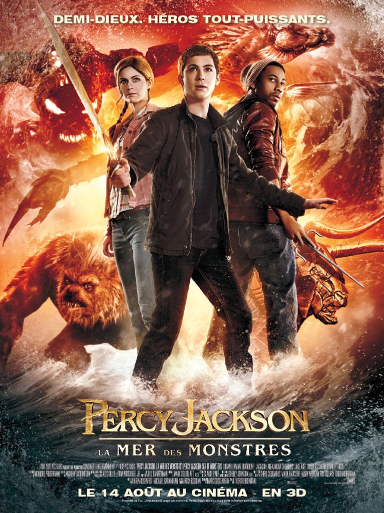 Percy jackson la mer des monstres seances cinéma le parisien
