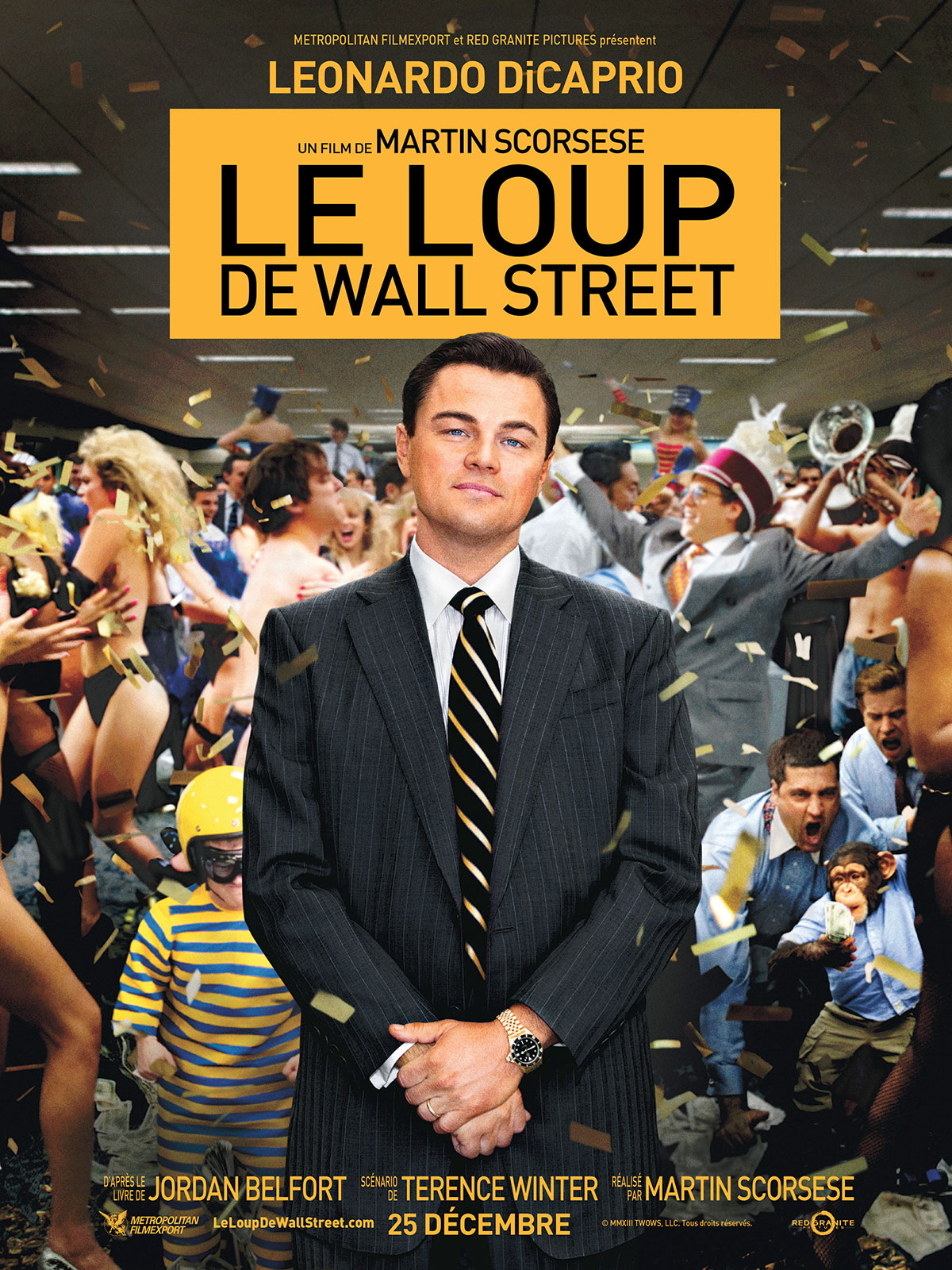 Regarder le film Le Loup de Wall Street en streaming