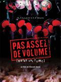 Photo : Pas assez de volume (notes sur l'OMC)