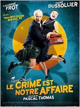 23h05 - TSR2 - Le Crime est notre affaire - 2008 - Comédie - 1h49