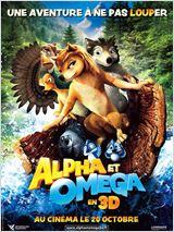 Alpha & Omega - 3D affiche
