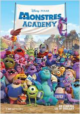 Film Monstres Academy streaming