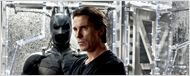 Christian Bale rend visite aux victimes de la fusillade.