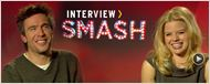 Interview : Derek &amp; Ivy de &quot;Smash&quot; au micro ! [VIDEO]