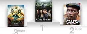 Box Office France : Le carton de Labyrinthe se confirme