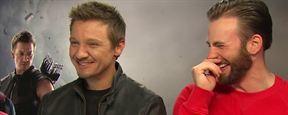 Avengers 2 : Jeremy Renner et Chris Evans dérapent en interview, puis s'excusent.