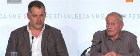 """Cannes 2015 - La Glace et le Ciel : pour Luc Jacquet, """"la vie de Claude Lorius est digne d'inspirer les gens"""""""