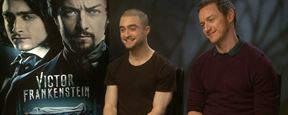 Daniel Radcliffe - James McAvoy : l'interview quiz !