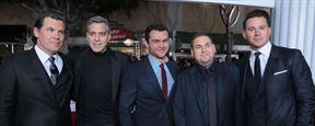 Ave, César! : George Clooney, Channing Tatum et toute l'équipe à l'avant-première américaine.