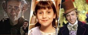 Le Bon Gros Géant, Matilda, Charlie et la chocolaterie... Ces films cultes sont adaptés du même auteur !