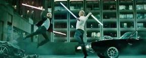 Fast & Furious 7 VS Star Wars : Vin Diesel et Jason Statham se battent avec des sabres laser