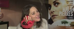 Mal de pierres : Marion Cotillard, l'interview blind-test !