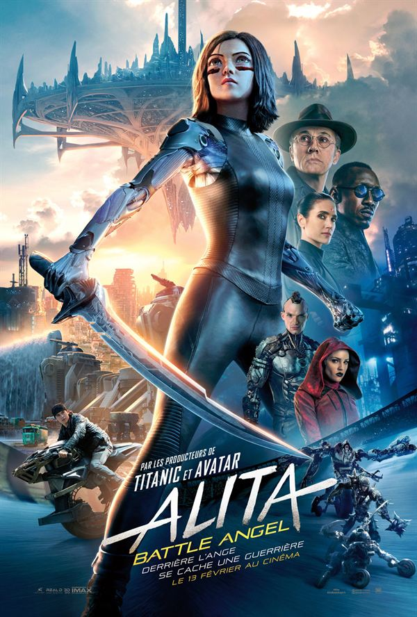 Alita : Battle Angel en 3D - Son Dolby Atmos