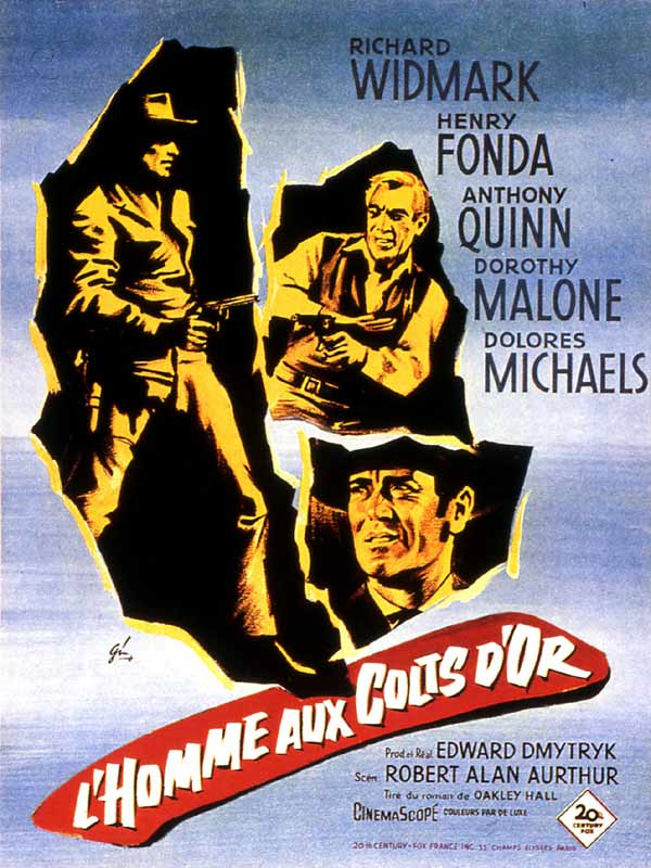 L'Homme aux colts d'or (1959) [Multilangues][Bluray 1080p]