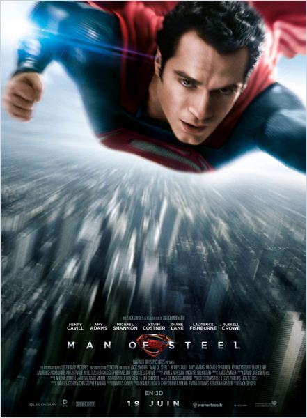 Horaires séances du film Man of Steel