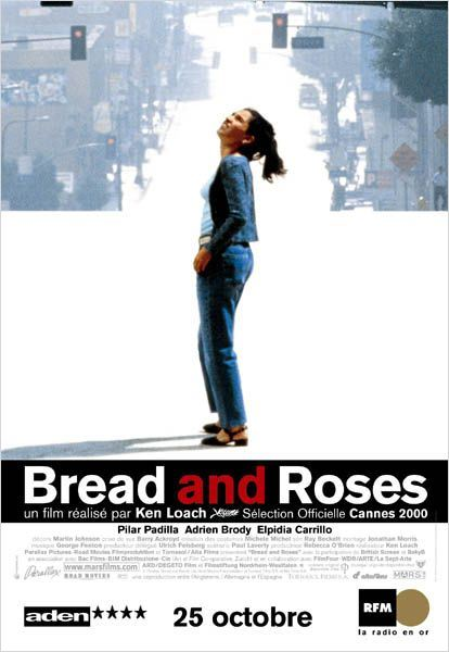 Bread and Roses : affiche Ken Loach