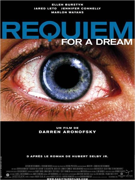 Requiem for a Dream : affiche Darren Aronofsky