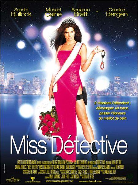 Miss Détective : Affiche Sandra Bullock